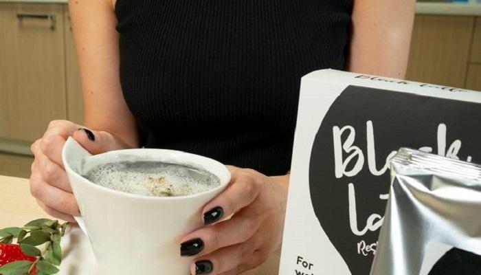 black latte como tomar