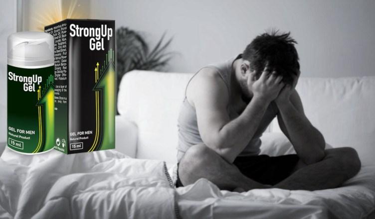 StrongUp Gel funciona, composicion, ingredientes